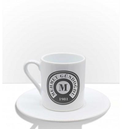 Kişiye Özel Tasarım, İsim Baskılı Kahve Fincanı