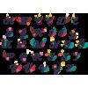 Canavar Harfler Kişiye/Çocuklara Özel İsim Baskılı Renkli Kupa