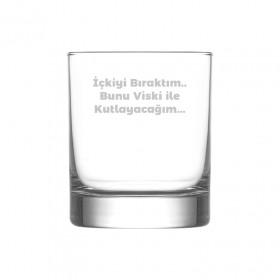Kişiye Özel Viski Bardağı Kendin Tasarla