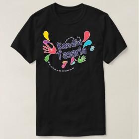 Kişiye Özel Siyah T-Shirt Tasarla