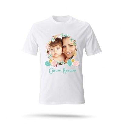 Anneler Günü Özel Beyaz T-Shirt