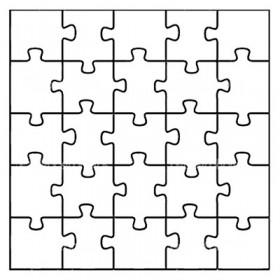 Kişiye Özel Ahşap Kare Puzzle Tasarla